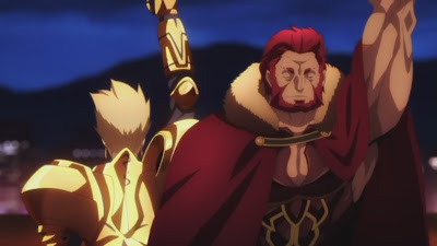 《Fate/Zero》第23話 — 征服王之死與韋伯之生 | SOS BLOG:動漫生活方式